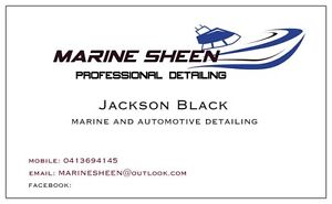 Marine sheen boat detailing and cleaning Mornington Mornington Peninsula Preview