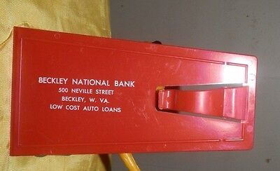1960's Beckley National Bank, Beckley, WV Scraper and Emergency Signal Flag