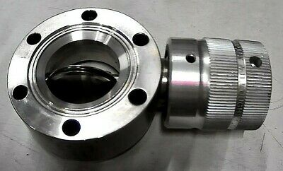 Nupro Company Dn35cf 2.75 Conflat Butterfly Valve Cf 304-24vf 2.75cf Free Ship