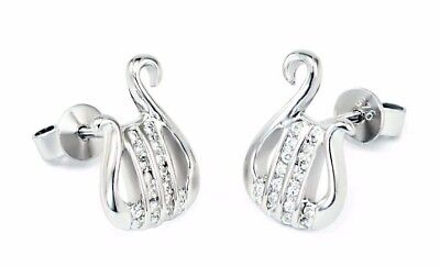 Alpha Chi Omega Sorority Lyre Earrings with CZs | Sorority Jewelry & Accessories Alpha Omega Jewelry