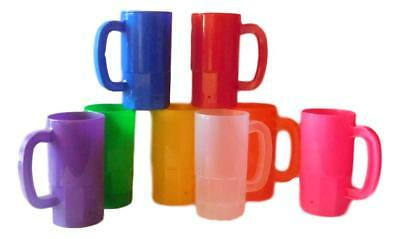 8 14 Oz Kid's Small Mugs, Cups- Choice of 8 Brilliant Colors, Made in USA *
