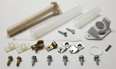New - Ice Maker Hardware Kit, Fill Tube, Extensions, Screws, Insert, etc 2155466 - Fill Tube Kit
