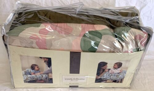 Wendy Bellissimo Lux Shopping Cart and High Chair Cover with Carry Bag Pink Camo