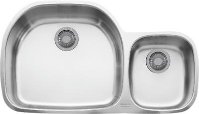 Franke Prestige KPCX120 Series Undermount Double Bowl Stainless Steel Sink  - Franke Undermount Double Bowl
