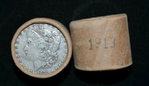 $10 Morgan Silver Dollar Roll - Vintage Unopened! 1878 - 1904