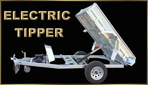Electric 7 x 5 Hydraulic Tipper Trailer by Spitfire Trailers Bullsbrook Swan Area Preview