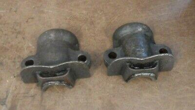 Pair Of Monitor Vj Main Pump Jack Engine Caps Gas Engine Motor