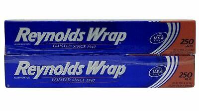 Reynolds Wrap Aluminum Foil Paper 500 Sq Ft 83.33 Yds X 12 Two Pack Non Stick