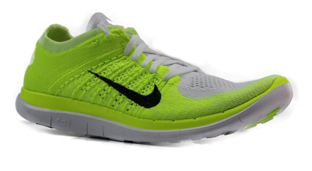 big sale e7a0e f03f1 Details about NEW WOMENS NIKE FREE FLYKNIT 4.0 RUNNING TRAINING ATHLETIC GYM  SHOES