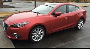 Mazda 3 2016 hatchback GT car loan takeover