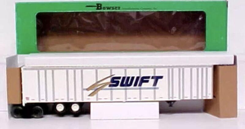 BOWSER SWIFT 53' ROADRAILER O SCALE TRAILER FREIGHT CAR INTERMODAL 3 RAIL