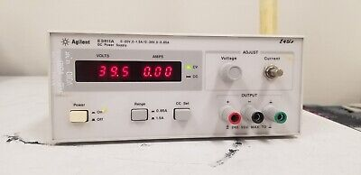 Hpagilent E3611a Dc Power Supply 0-20v0-1.5a0-35v0-0.85a