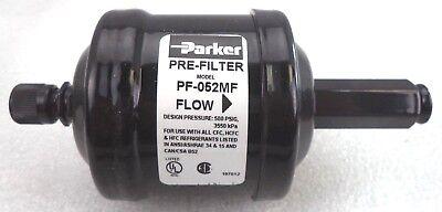 Parker 14-m X 14-f Flare Pre-filter Refrigerant Recovery Pn Pf-052mf
