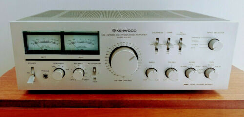 Kenwood KA-801 High Speed DC Integrated Stereo Amplifier, 110 WPC