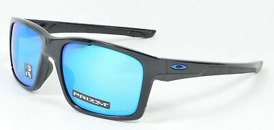 Oakley Mainlink Sunglasses OO9264-3057 Polished Black W/ PRIZM Sapphire Lens