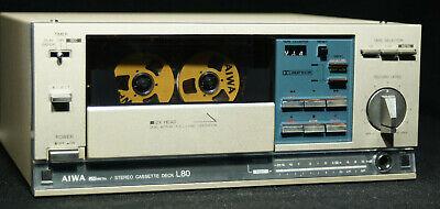 AIWA SD-L80 Mini Component Cassette Tape Deck Serviced NICE! segunda mano  Embacar hacia Mexico