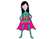 Summer Holiday Home Help -Nanny Nat
