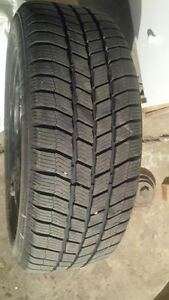 Winter tires on Rim (Like New)
