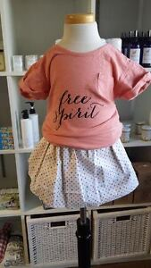 40 PER CENT OFF HANDMADE BABY TODDLER SKIRTS at BAMBINI & ROO