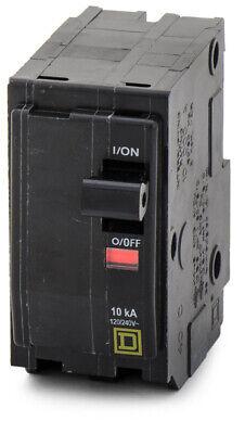 Square D Qo240 40a 40 Amp 2 Pole Circuit Breaker 120240v 5060 Hz 10ka