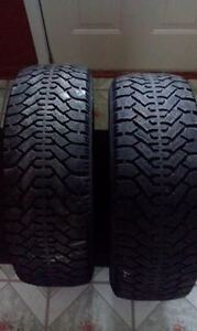2 goodyear nordic winter tires