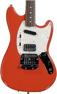 Fender Kurt Cobain Mustang (Still New condition) Fiesta Red