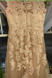 Wedding/formal lace gown size 18