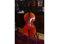 Beautiful hand made cello for sale