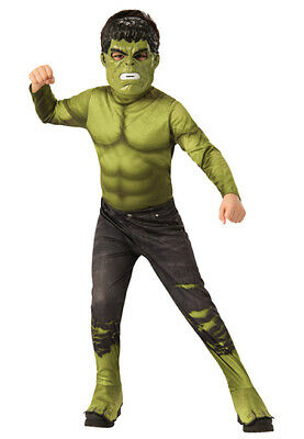 Child Marvel Hulk Costume Jumpsuit Halloween Avengers Endgame - Hulk Kostüm Halloween
