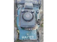 Hayter harrier 48 electric start rear roller self drive spares or repair