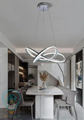 Lampadario a sospensione soffitto LED design moderno da soggiorno luce fredda