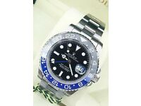 Rolex gmt batman £300 or £350 with box and papers