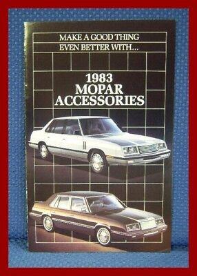 1983 MOPAR Automobile Accessories Brochure - EXCELLENT!