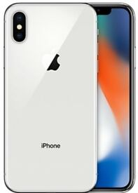 BRAND NEW SEALED iPHONE X 64GB SILVER