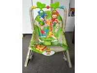 Fisher Price newborn to toddler vibrating rocker chair