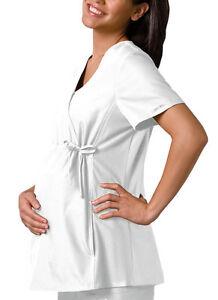 MEDICSTOX CHEROKEE MATERNITY TOP SCRUBS MEDICAL UNIFORMS CLOTHIN