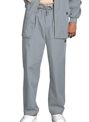 - Scrubs Cherokee Workwear Mens Cargo Pant 4000 Grey  FREE SHIPPING