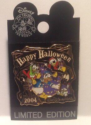 DONALD AND NEPHEWS HAPPY HALLOWEEN LIMITED EDITION WDW PIN ON PIN](Happy Halloween Nephew)