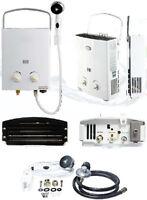 Le chauffe eau portatif a gaz propane