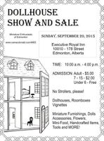 Dollhouse Show and Sale September 20th, 2015