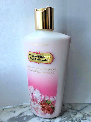 Victoria's Secret STRAWBERRIES & CHAMPAGNE Hydrating Body Lotion 8.4OZ/250ML*NEW