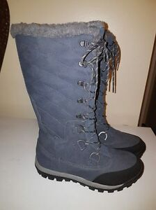 Ladies Bear Paw Winter Boots