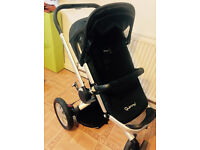 QUINNY BUZZ 3 Black (with raincover and adaptors)