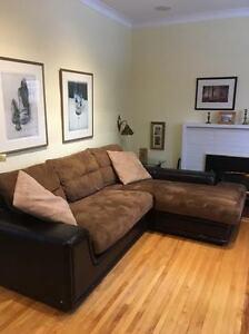 Sectional L shape sofa
