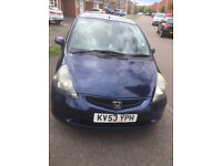 HONDA JAZZ - AUTOMATIC - 5 DOOR - PETROL