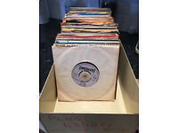 "Record collection for sale - 150 soul/funk/reggae 7"" records."