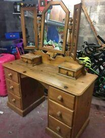 Lovely solid wooden dresser