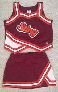 Vintage authentic cheerleader uniform
