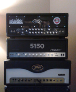 Peavey 5150 , Peavey JSX and peavey windsor for trade