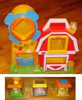 Ferme Peek-a-Block de Fisher-Price